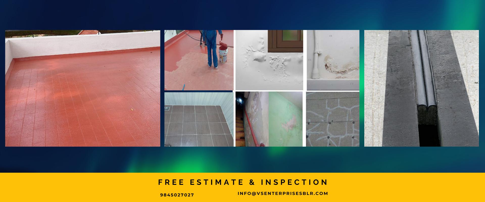waterproofing solutions contractors,expansion joint waterproofing,wall seepage repair